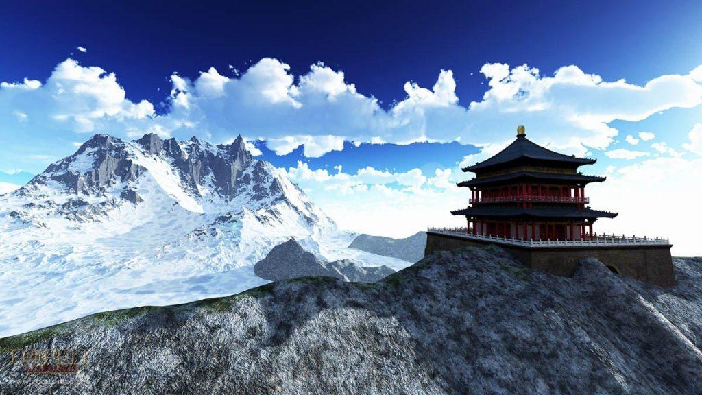 волонтерский проект в Тибете