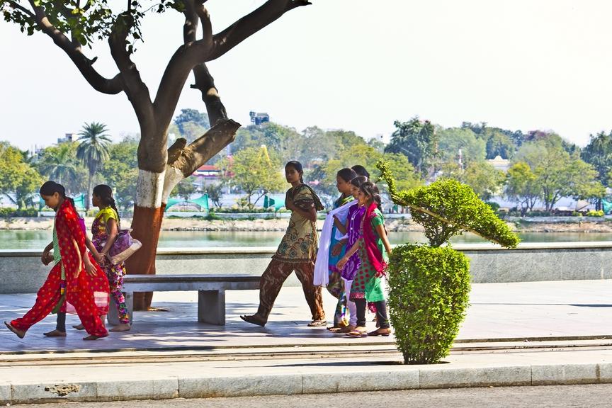 волонтерский проект, путешествие в Индию