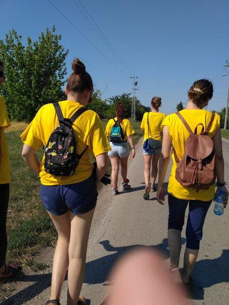 волонтерский проект в Сербии