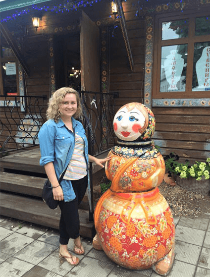 teach and travel russia
